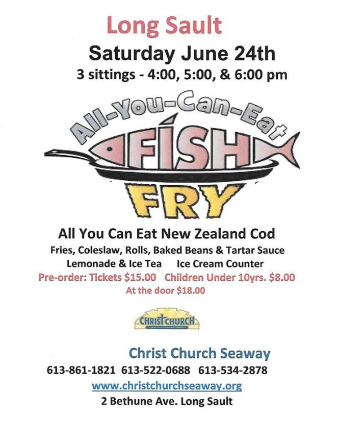 Fish Fry Poster 2017