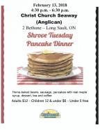 Pancake Dinner 2018